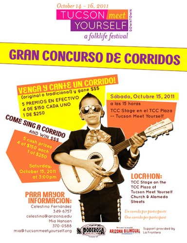 2011 Corrido Contest Poster