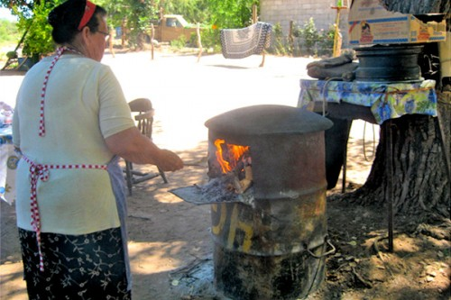 Comal for cooking tortillas