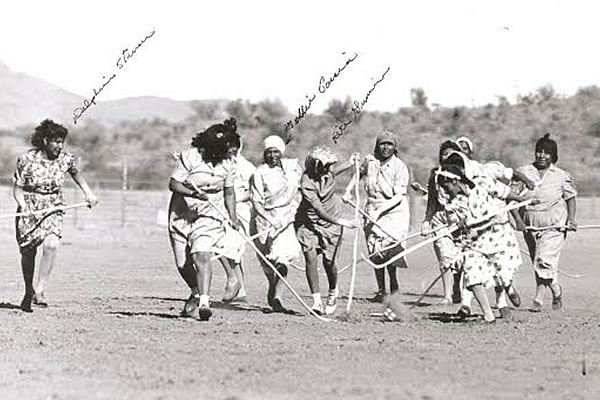 Women Playing Toka