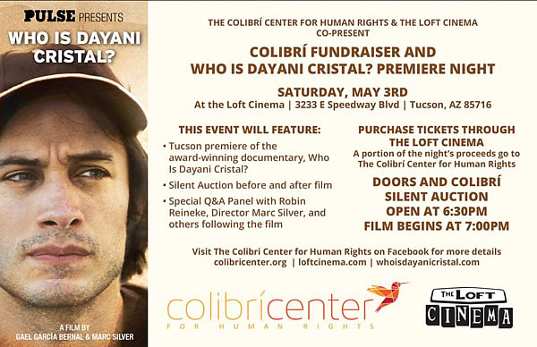 Colibri Center for Human Rights Fundraiser