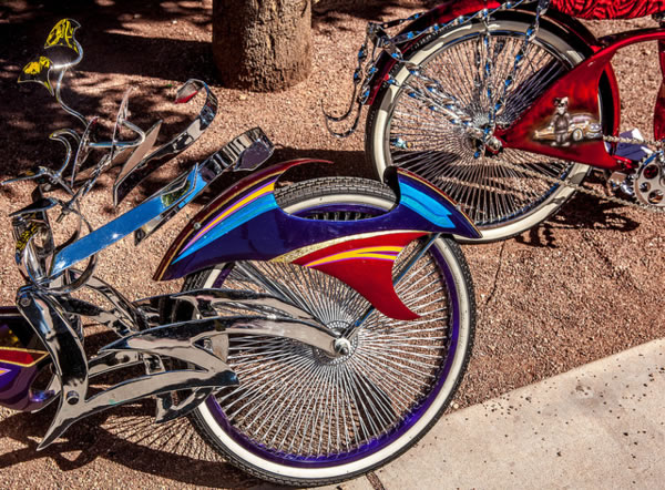 Bicycles at TMY